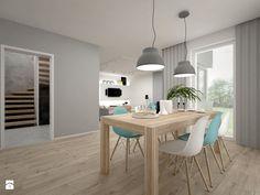 Dom - 65 m2 - Jadalnia, styl skandynawski - zdjęcie od BIG IDEA studio projektowe