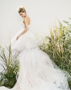 A bridal editorial with fashion girl Laurel Pantin for Harper's Bazaar