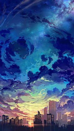 117 best aesthetic anime wallpaper images on anime art Fantasy Landscape, Landscape Art, Fantasy Art, Sunset Landscape, Landscape Design, Landscape Paintings, Pastel Landscape, Contemporary Landscape, Anime Scenery Wallpaper