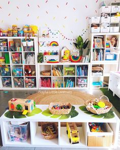 Pin By Sarah Castaneda On Playroom In 2019 Montessori Room Kids Room Organization, Playroom Organization, Montessori Playroom, Waldorf Playroom, Ikea Kids Playroom, Playroom Ideas, Toy Rooms, Kids Rooms, Room Kids