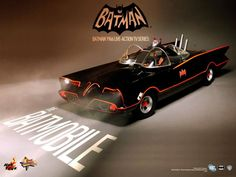 HOT TOYS to release Figures and Vehicles from 1960s Live-Action #BATMAN Series; Unveil #Batmobile teaser
