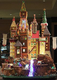 Gingerbread house.........................perfection