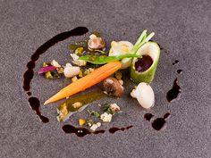 Bocuse D´Or 2011 - Spain by Alfonso Acedo, via Behance Bocuse Dor, Rare Wine, Modernist Cuisine, Plated Desserts, Food Presentation, Food Design, Food Plating, Food Photo, Food Art