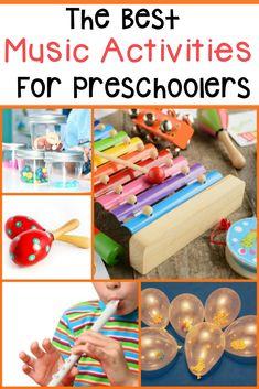 Music Activities For Preschoolers - The Relaxed Homeschool