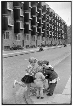 Henri Cartier-Bresson  DENMARK. Copenhagen. 1953.