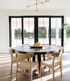 Sheffield Home, Farm Cottage, Contemporary Dining Chairs, Dining Room Inspiration, Florida Home, Outdoor Furniture Sets, Living Spaces, Sweet Home, Dining Table