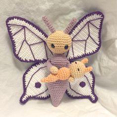 Butterfly Bree made by Melanie - crochet pattern by Zabbez