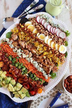 Super Salad Recipes on Pinterest | Kale Salads, Salads and Vinaigrette