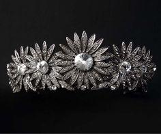 DANTE - Swarovki Crystal Flower Tiara