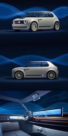 New Car Photo, Honda, Futuristic Cars, Car Tuning, Unique Cars, Japanese Cars, Small Cars, Transportation Design, Future Car