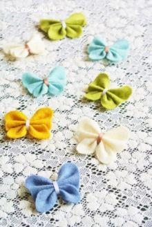 簡単!フェルトのお花の作り方   こいとの Handmade Life