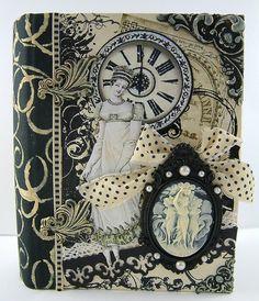 Austen inspire handmade book