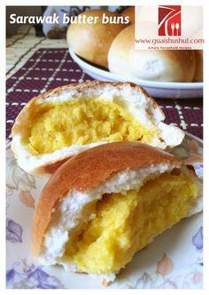 Homesick Buns? Yes, I am homesick of Sarawak Style Butter Buns..
