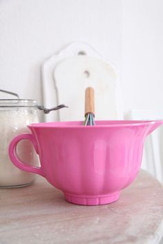 PINK Mixing Bowl  _____________________________ Reposted by Dr. Veronica Lee, DNP (Depew/Buffalo, NY, US)