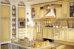 English Country Kitchen, color scheme. . .