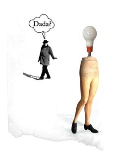 """what is dada?"" by leapofdesire ❤ liked on Polyvore featuring art"