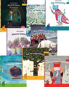 Zestaw 8 książek z serii