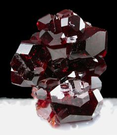 Blood Red Uvite Tourmaline Crystals from Brazil