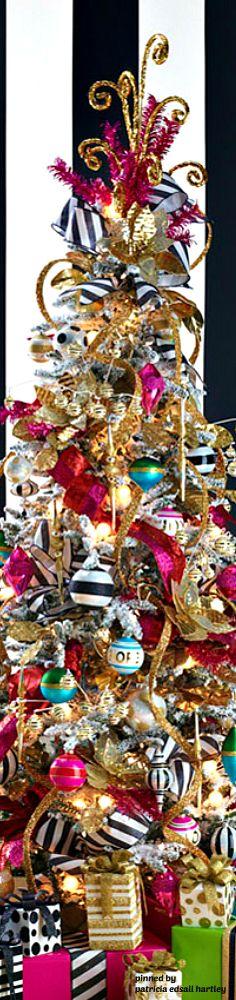 Modern take on a Christmas tree.