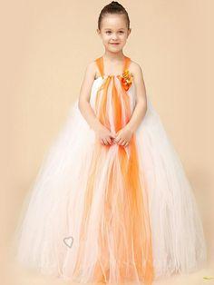 Little Girls Performance Dress Flower Girls Skirt