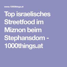 Top israelisches Streetfood im Miznon beim Stephansdom - 1000things.at Lokal