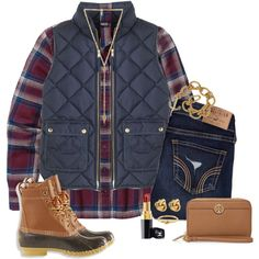 I really want bean boots!!! by anna-watson00 on Polyvore featuring polyvore, fashion, style, Patagonia, J.Crew, L.L.Bean, Ettika, Kate Spade, Tory Burch and Chanel
