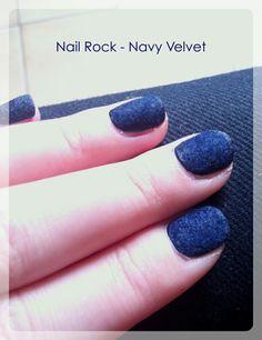 Velvet rock - velvet navy Nail Polish Collection, Heart Ring, Velvet, Rock, Navy, Beauty, Hale Navy, Skirt, Heart Rings