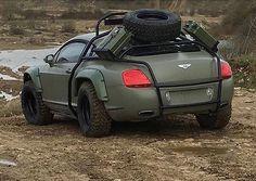 Offroad Bentley GT
