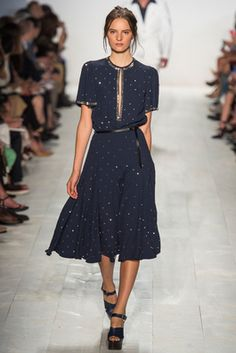 Майкл Корс Коллекция Весна 2014 Ready-а-порте Fashion Show: Полное собрание - Style.com