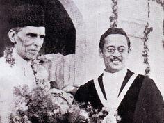 with Mayor of Karachi, Hatim A Alavi 1938