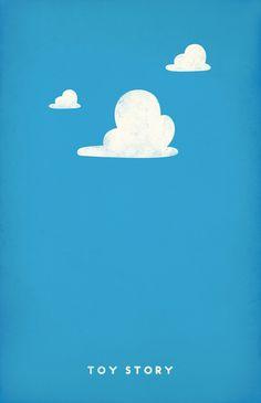 Toy Story [John Lasseter, 1995] «Pixar Movie Posters Author: Pandreaa»