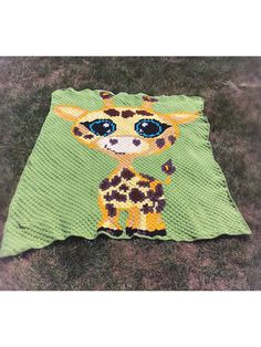 SUNNY DAY Graph Afghan Pattern Crochet Patterns JUNGLE BABY TIGER