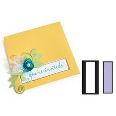 Sizzix Movers & Shapers Magnetic Die - Rectangle $9.99
