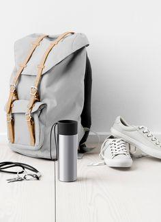Lækker To Go Cup fra Eva Solo #inspirationdk #nyhed #danskdesign #Evasolo #ToGo #gray