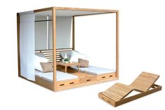 Outdoor furniture by outer eden - The Cabana sunbed