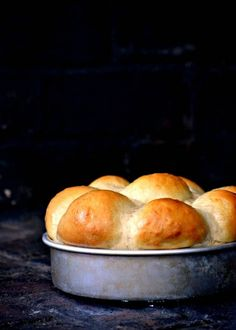 Light and fluffy sweet rolls with a hint of pineapple and coconut. Perfect paired with BBQ or enjoyed warm with butter.