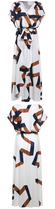 Design idea - use components of quilt motifs in garments. Maxi-dress for sale.