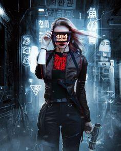 Cyberpunk City, Cyberpunk Kunst, Moda Cyberpunk, Cyberpunk Aesthetic, Cyberpunk Fashion, Cyberpunk Anime, Neon Aesthetic, Girl Iphone Wallpaper, Iphone Wallpapers