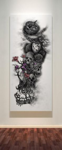 Maybe you have a great tattoo idea but are still unsure about having it done, you can still have your idea created and printed on a high quality, stylish canvas that will look great in any room aro…