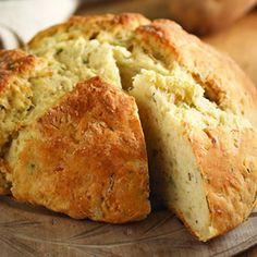 Irisches Kartoffelbrot. Sieht appetitlich aus!