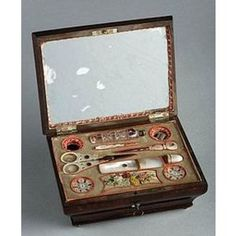Victorian Sewing Box