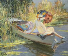 Quiet Waters by Edward Cucuel