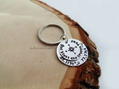 God Bless the Broken Road Key Chain by SouthernComfortZone on Etsy God Bless the Broken Road Key Chain Necklace - Relationship - Coordinates - Long Distance - Military - Where We Met - Compass - His and Hers