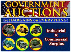 GovernmentAuctions.org® is the Premier bargain hunter website, featured on CNBC, CNN Entrepreneur Mag. Radio, eBay Radio, Barron's, Good Houskeeping, Realtor Magazine, Yahoo News, Information Week, and many others  To provide accurate information about government auctions and foreclosures so that our members may find all types of bargains on seized and surplus cars, jewelry, real estate, equipment, art, collectibles, and other items Premier bargain hunter website, featured on CNBC