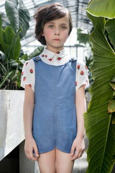 Another adorable outfit from French label QUENOTTE .