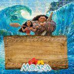 Convite Moana e Maui