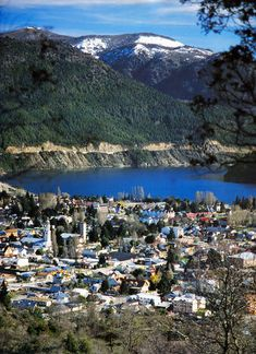 San Martin de los Andes, Argentina South America Travel, Lake District, Best Cities, Aerial View, Trip Planning, Places To Go, Beautiful Places, Vacation, Pictures