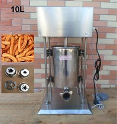 560.00$  Watch here - Free Shipping 10L Commercial Electric Auto Spanish Donut Churrera Churro Filler Maker Machine  #buychinaproducts