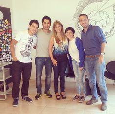 Sabrina, Franco, Luchín & chicos de la escuelita de verano 1