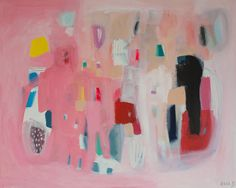 ABSTRACT painting giclee print acrylic painting by LolaDonoghue